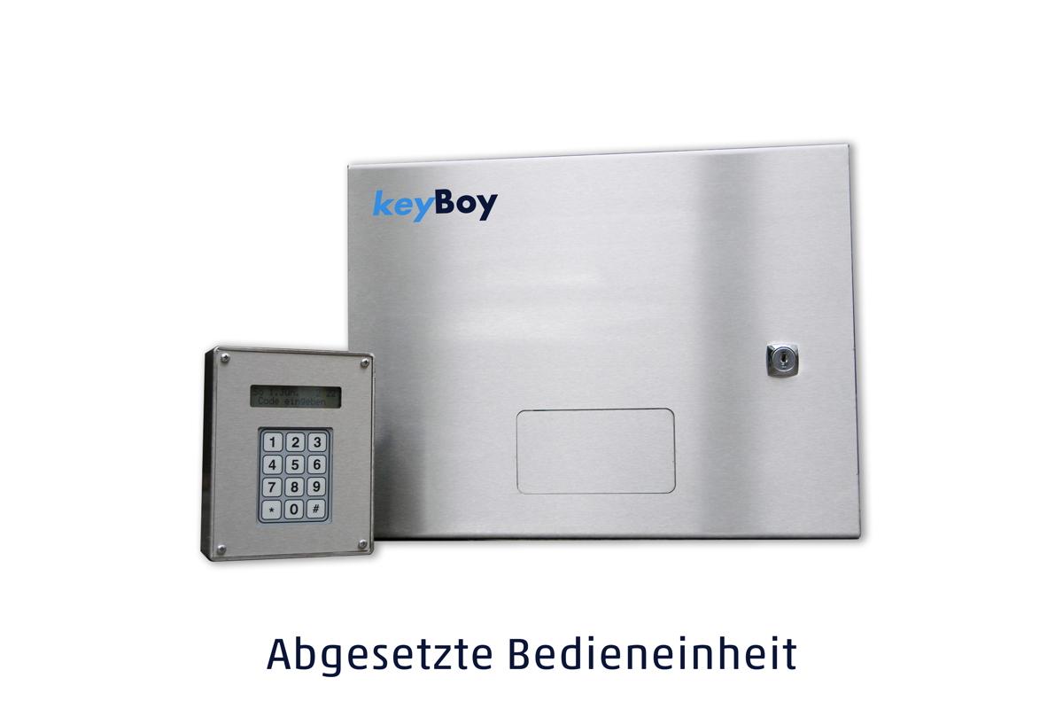 keyBoy mit abgesetzter Bedieneinheit
